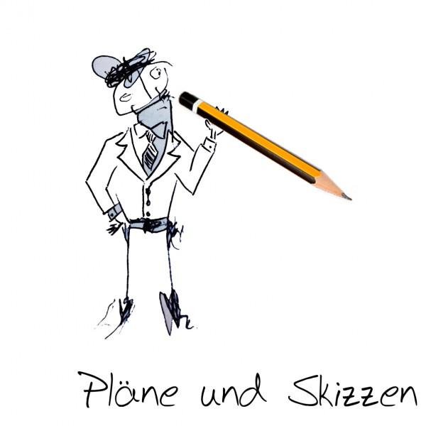 Pläne und Skizzen