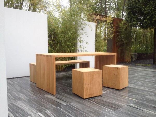 Gartenmöbel auf der LaGa 2017 in BaLi